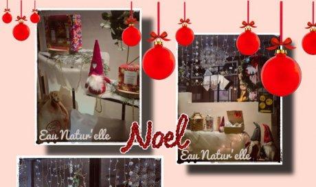 EAU'NATUR'ELLE vous souhaite de bonnes fêtes de fin d'année